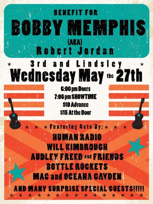 Bobby Memphis Poster